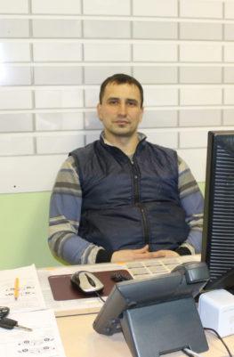 Сергей мастер-приёмщик